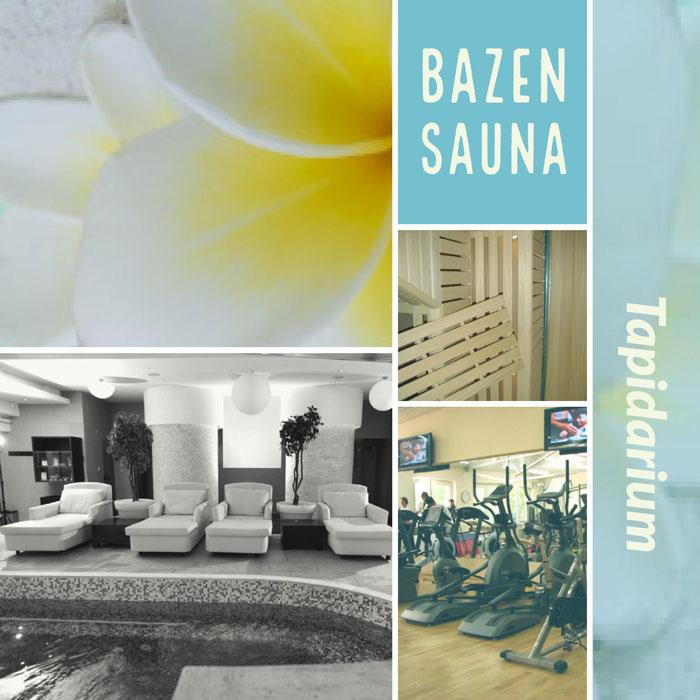 Cold days in warm pool, sauna and tapidarium