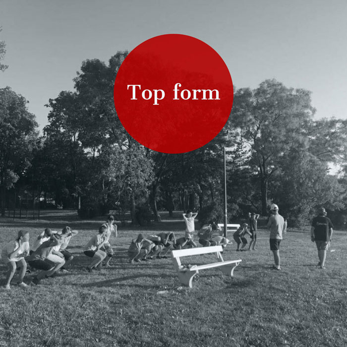 5 sport for top-form